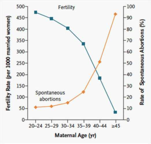 Age & Fertility Graph