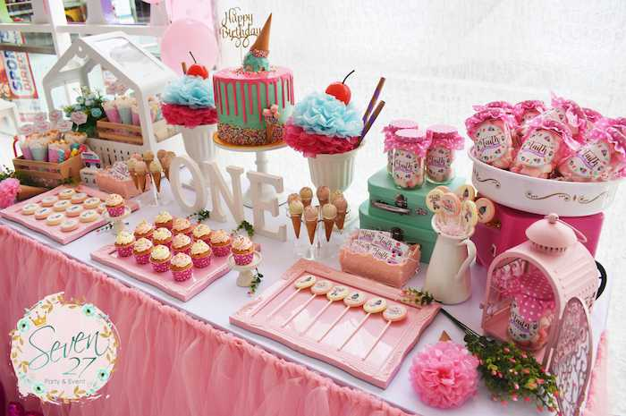 Ice Cream Themed Party Ideas