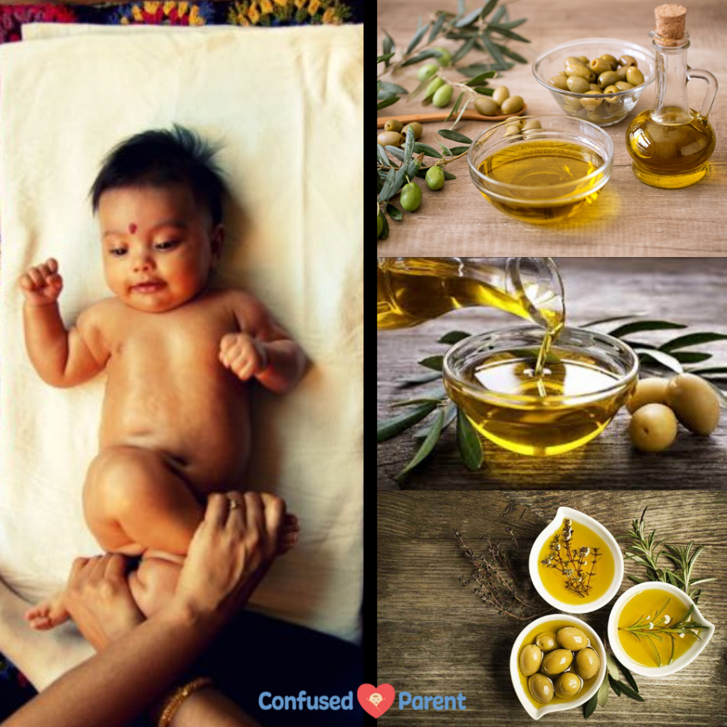health benefits of olive oil for baby massage - all you need