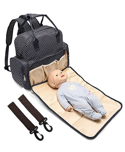 Diaper Bag With Changing Mat